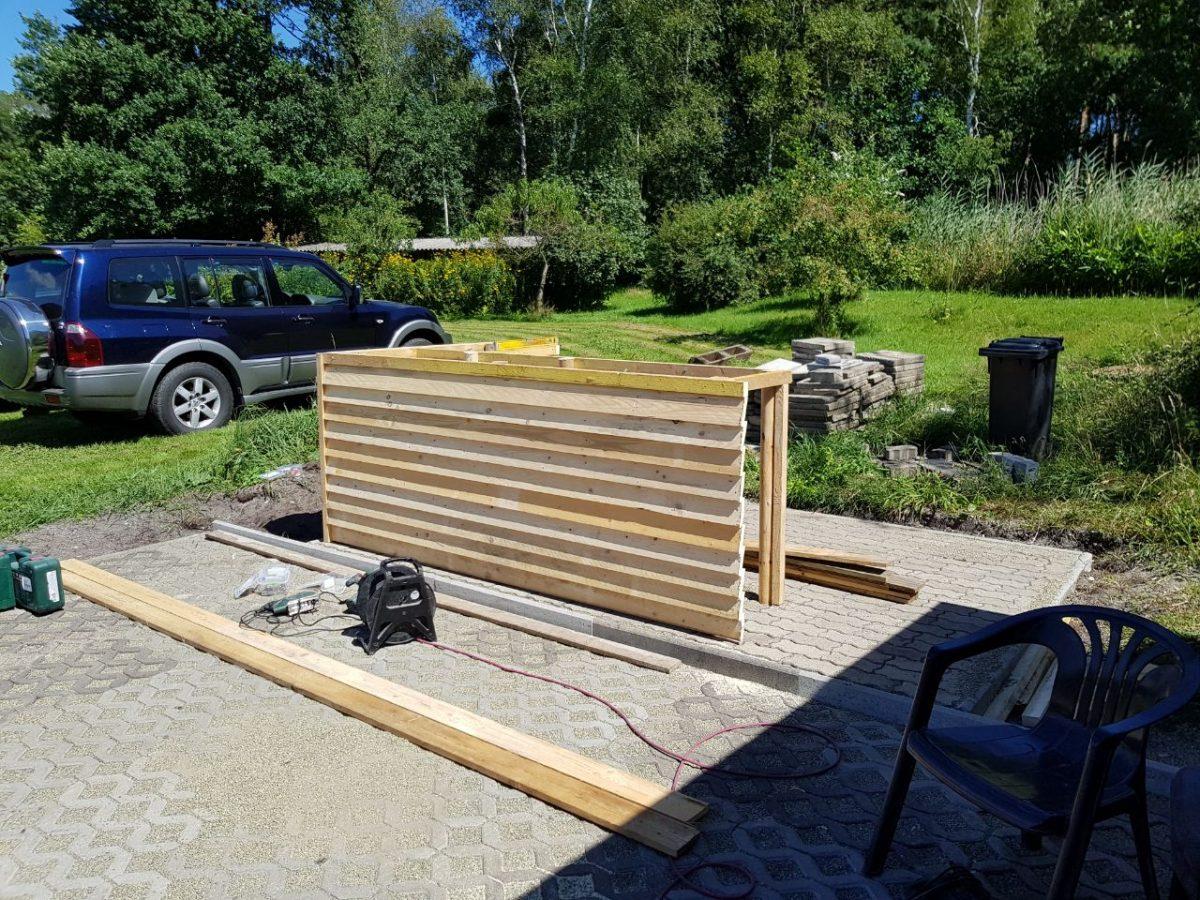 terrasse mit grillecke. Black Bedroom Furniture Sets. Home Design Ideas
